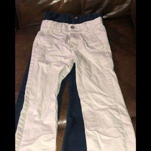 2 pair of boys 10 slim Chaps pants